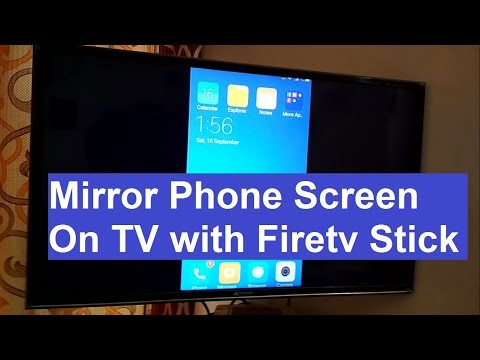 Amazon Fire TV Stick - How to Mirror Phone or Tablet Screen