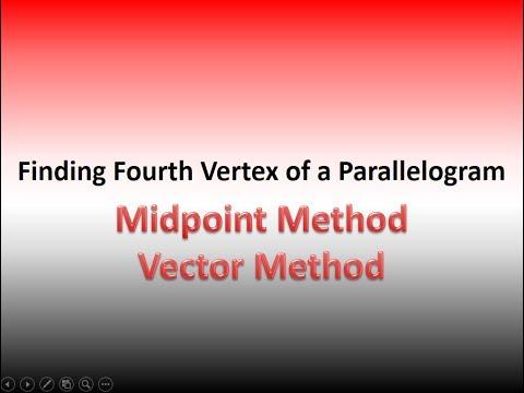 Fourth Vertex Of Parallelogram