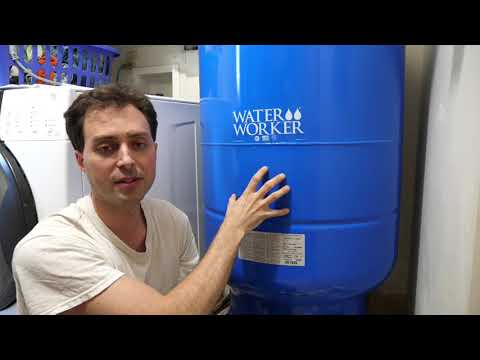 Off Grid Water Pressure Tanks