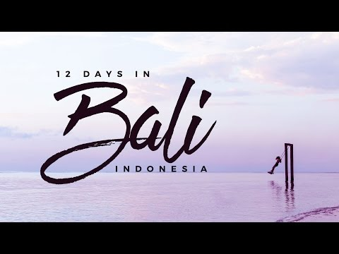 Awesome Things to Do in Bali, Indonesia! 🇮🇩 (A 12-Day Travel Itinerary feat. Balintro Tours)
