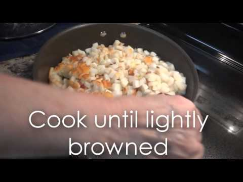 How to cook: Hashbrowns and Ham