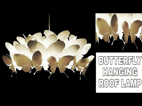Butterfly hanging toran #2 || Diy home decoration ideas