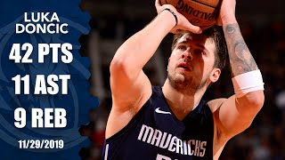 Luka Doncic caps historic November with 42 points, 11 assists vs. the Suns | 2019-20 NBA Highlights