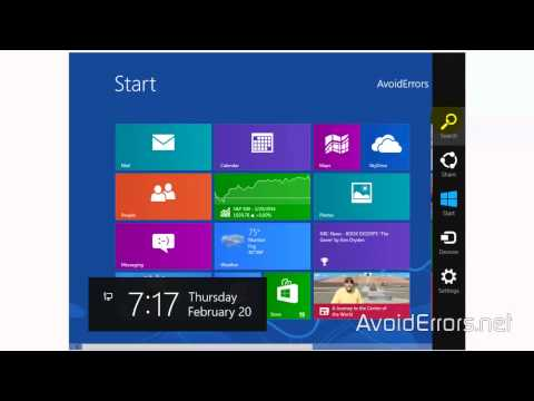How To Create Desktop Shortcuts In Windows 8.1
