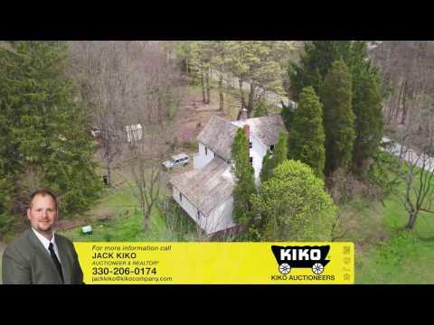 KIKO Auction – 144 Acres Land - Farmhouse - Buildings - Tractors - Furniture