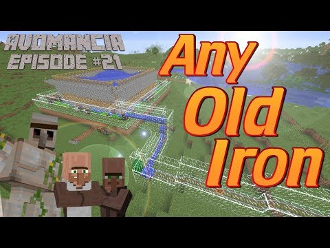 Minecraft: How to make an Iron farm and Villager Breeder in Minecraft | Avomancia Ep21 Lets Play