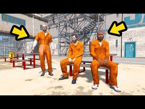 PRESOS? Michael, Trevor e Franklin condenados a prisão PERPETUA!!