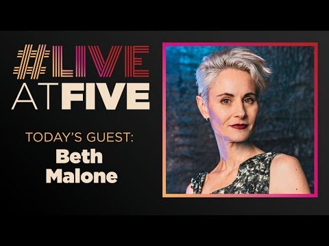 Broadway.com #LiveatFive with Beth Malone of ANGELS IN AMERICA