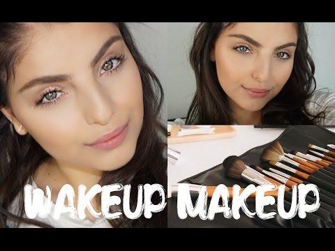 Wakeup Makeup - Fast, Simple, Everyday Makeup Tutorial