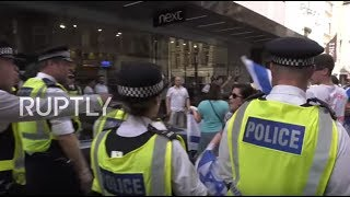 UK: Tensions high as Al Quds march is disrupted by pro-Israeli activists