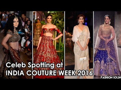 Fashion101.in presents: Bollywood Spotting at ICW