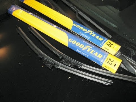 Lexus wiper blade replace IS300 Goodyear by froggy