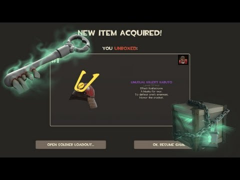 TF2 - Halloween Special Crate Unboxing UNUSUAL FOUND