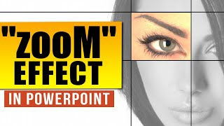 Cool Zoom Animation Effect:  Powerpoint Animation Tutorial (professional Trick)