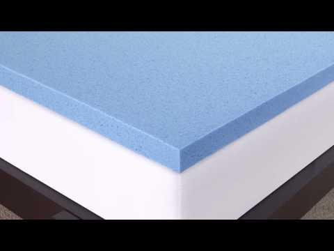 Novaform 3 Gel Memory Foam Mattress Topper