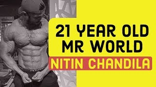 21 year old Mr World | Nitin Chandila
