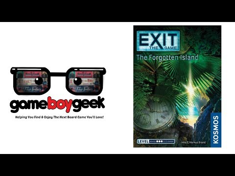 Exit the Game: Forgotten Island Review (No Spoilers) with the Game Boy Geek