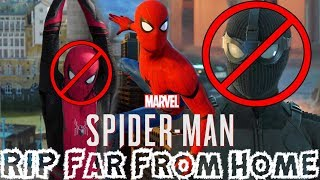 Download Spider-Man PS4 - Insomniac Confirms NO Spider-Man: Far From Home Suits!!! Video