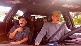 SURPRISING FANS WITH RIDES IN MY NEW CAR (DRIFTING)