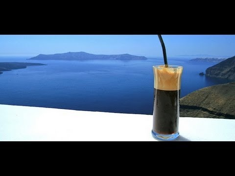 How to make Greek Ice Cold Coffee (Frappe)