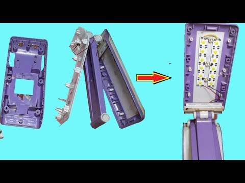 Repair Your Old broken Emergency  Light at HOME