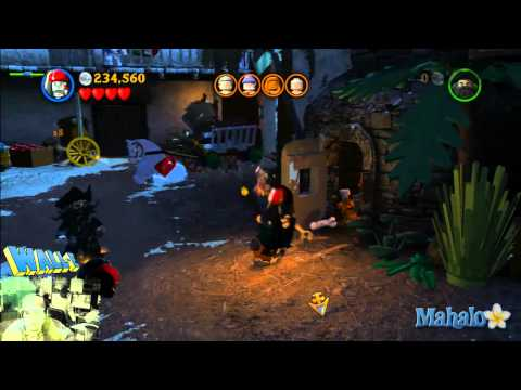 LEGO Pirates of the Caribbean Complete Free Play Walkthrough - Final Complete Pass - Pt 4