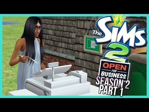 The Sims 2 | Open For Business [S2 - Part 1] - GETTING STARTED!! - w/Commentary