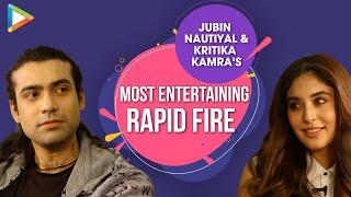 Alia Ya Deepika?   Kartik Ya Varun?   Jubin & Kritika's AMAZING Rapid Fire   SRK   Salman   Ranbir