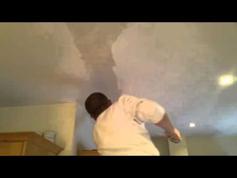 How to fill cracks in wall and ceiling before painting