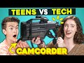 Teens Try Using A 90s Camcorder Technical Difficulties New Show