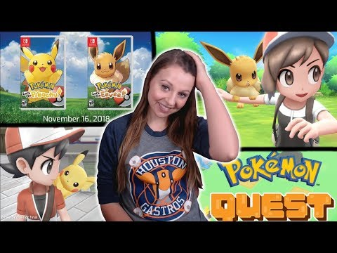 CRAZY REACTION AND ANALYSIS!!! NEW Pokemon Games Let's Go Pikachu & Eevee REACTION & Thoughts!