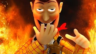 Gmod Sandbox Funny Moments: Woody of Doom