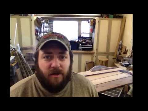 Woodworking Part 1 Building a custom hardwood memorial flag display case
