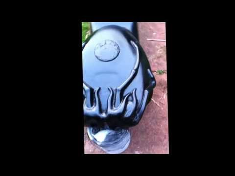 Milders Masks Chimera motorcycle build tank sculpt and seat unit together :)