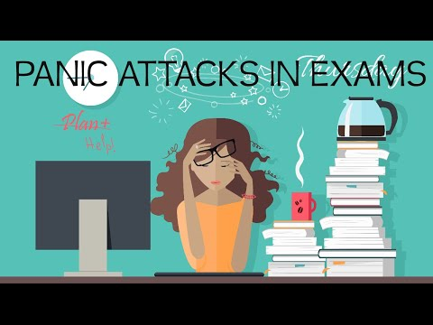 PANIC ATTACKS during exams 😖😣😭😵