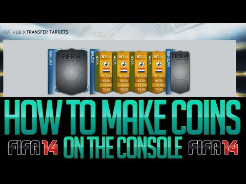 FIFA 14 Ultimate Team Trading | My Method On How To Make Coins On The Console