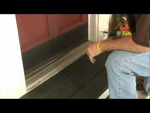 How to Weather-Strip Doors Using a Doorsweep