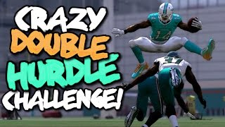 DOUBLE TROUBLE HURDLE CHALLENGE vs JARVIS LANDRY?? Crazy Madden 17 Challenge