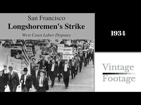 Longshoremen's strike, San Franciso, 1934