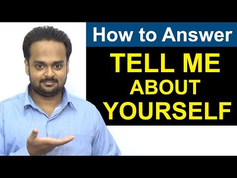 Tell Me About Yourself - The PERFECT ANSWER to This Interview Question