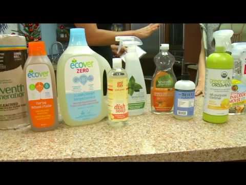 Healthier Ways to Clean Your House