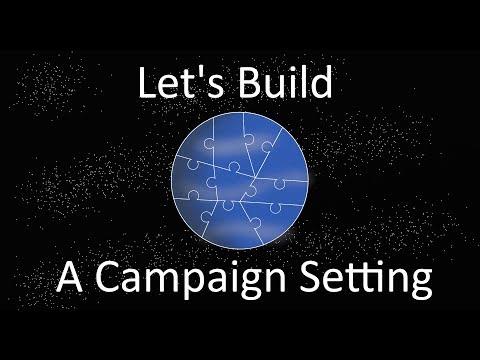 Let's Build a Campaign Setting - The Endor Solution