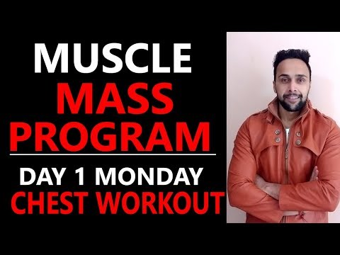 Complete Chest Size Gain Or Mass Gain Workout Plan In Hindi