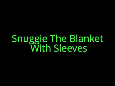 Snuggie The Blanket With Sleeves for cold winter nights
