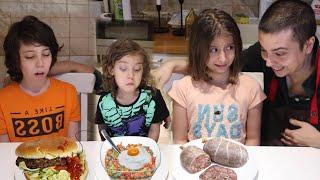 ليش أبوهم خلاهم يجربوا أسوأ الأكلات!؟
