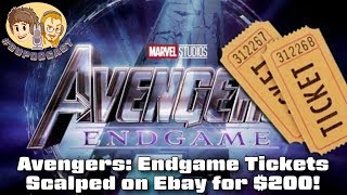 Download Scalpers Selling Avengers: Endgame tickets on Ebay Video