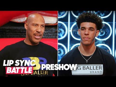 LaVar Ball vs. Lonzo Ball - Father vs. Son | Lip Sync Battle Preshow