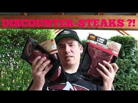 Steaks vom Discounter