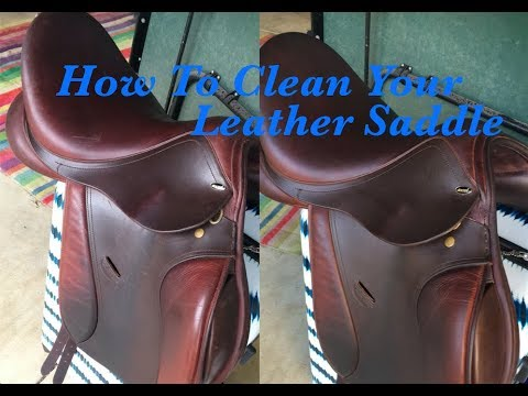 How To: Clean Your Leather Saddle