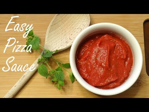 Crazy Easy Pizza Sauce in less than 5 minutes - Easy Pizza Sauce Recipe